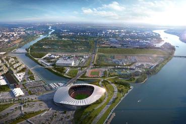 Olimpiai Park                         Látványtervek: Brick Visual