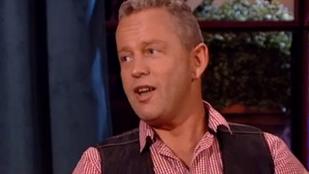 Schobert Norbert Hajdú Péter műsorában próbálta lemosni magáról a cukros kokainbalhét