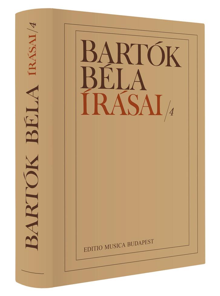 Bartók Béla írásai/4. kötet