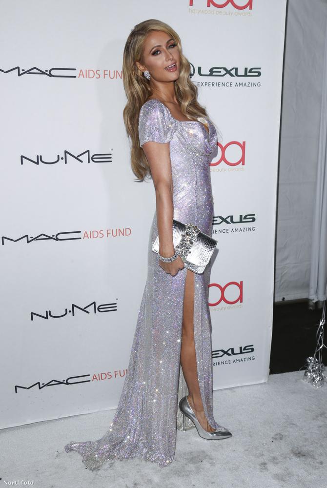 Hat ilyen mostanában Paris Hiltonnak lenni.Köszönjük a figyelmet!