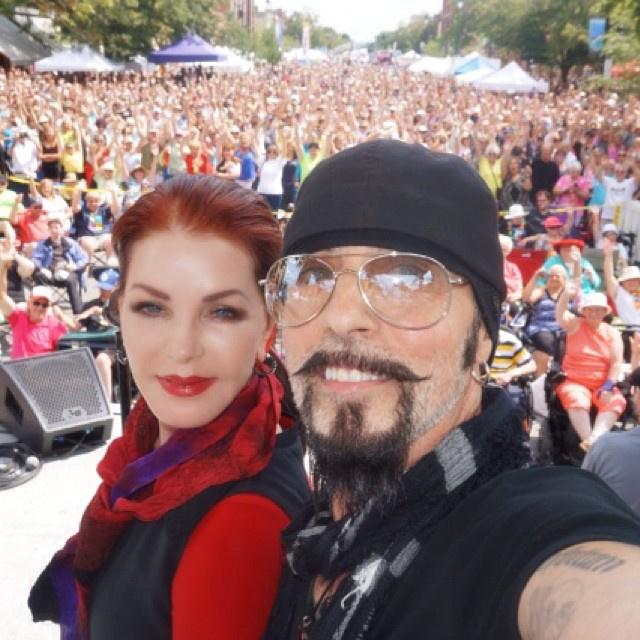 2014-ben az Elvis Fesztiválon Collingwoodban