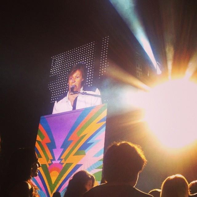 2014-ben bejelentkezett egy Paul McCartney koncertről