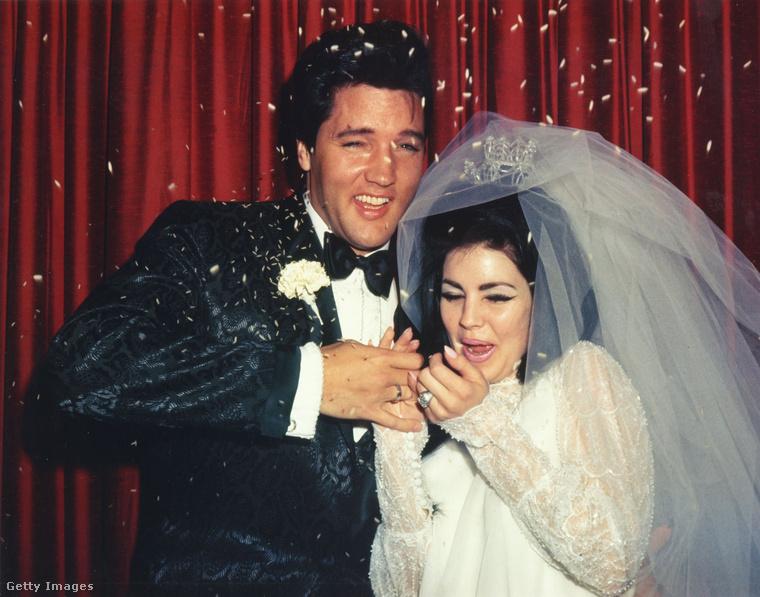 Egy kicsit emlékezzünk vissza a házasságára Elvis Presleyvel, ami itt kezdődött 1967 május 1-én Las Vegasban, és kis túlzással csaknem itt véget is ért a boldogságuk, miután felvágták a tortát