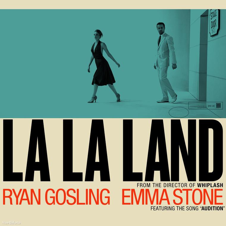 A Kaliforniai álom (La La Land) filmzenéjének borítója.