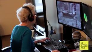 Ez a 80 éves nagymama komolyabban tolja a videójátékokat, mint ön!