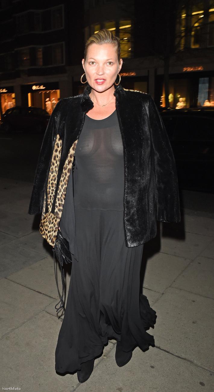 Kate Moss a napokban elment a londoni Sumosan Twiga nevű japán étterembe, hogy megünnepelje az egyik barátja születésnapját.Az illető barát amúgy Edward Enninful stylist, a W magazin divat-és stílusügyekért felelős igazgatója