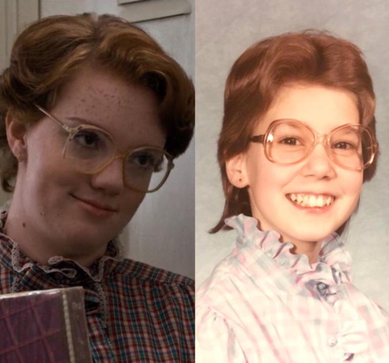 A végére pedig egy kordokumentum 1984-ből, mikor ez a mosolygós kislány még Barb volt.Lehet, hogy Ön is Barb? Küldje el nekünk a bizonyítékot!