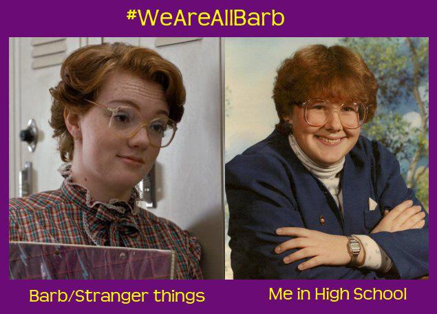 Ő pedig már egy másik élő Barb.