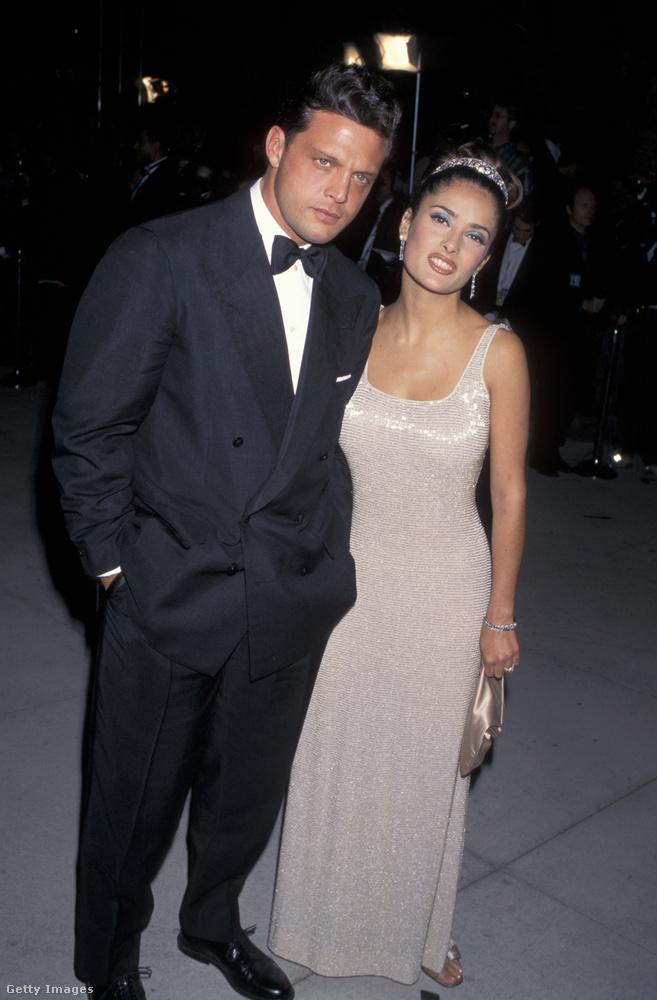 1997-ben Luis Miguel szigorral, Salma Hayek pedig vicsorral az arcán érkezett a díjátadóra