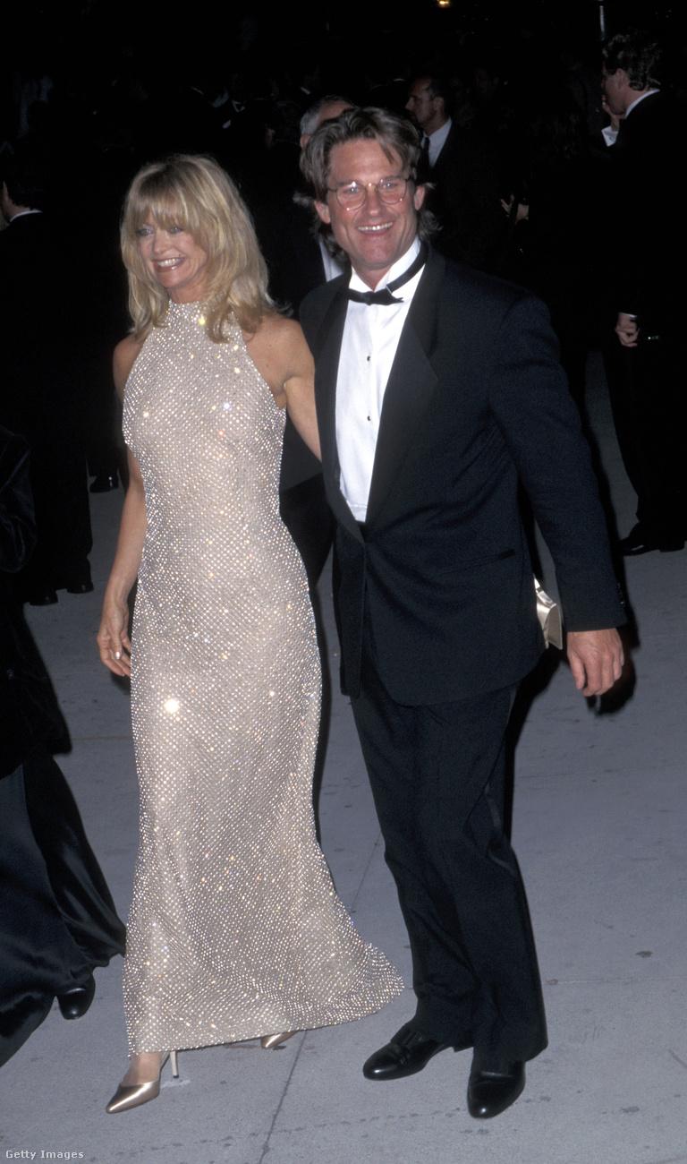 Kurt Russell és Goldie Hawn már akkor is szimpatikus jelenségnek számított, amikor 20 évvel ezelőtt együtt gáláztak az Oscar-on