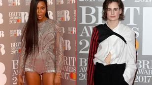 Mégis mi volt a dress code a Brit Awards-on? Minél bénább, annál jobb?