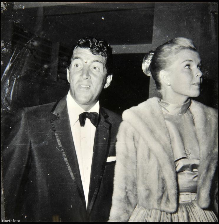 Az olasz származású amerikai énekes, színész, Dean Martin második feleségével, Jeanne Biegger színésznővel