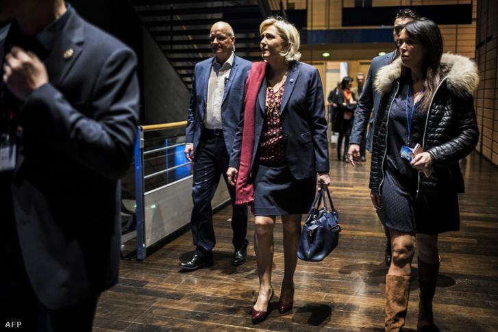 Thierry Legier testőr, Maria Le Pen és Catherine Griset kabinetfőnök