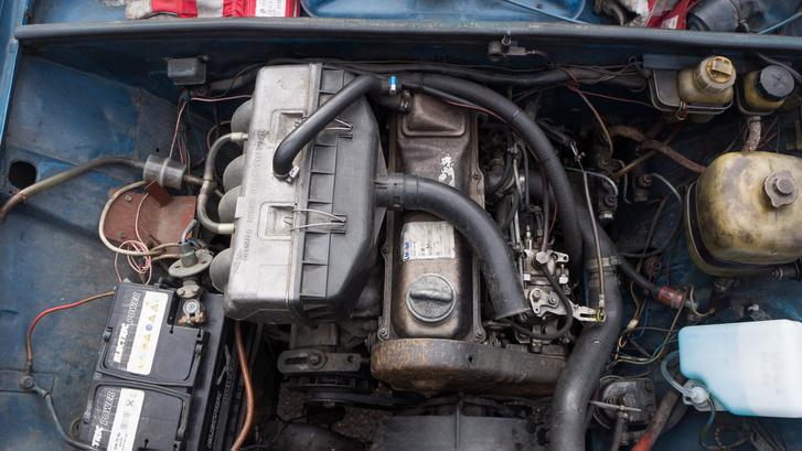 A Volkswagen korai dízele eleve nagyon ritka manapság, de megbízható és tartós konstrukció