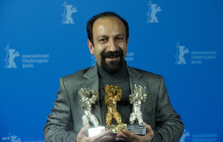 Aszgar Farhadi a 2011-es Berlinálén