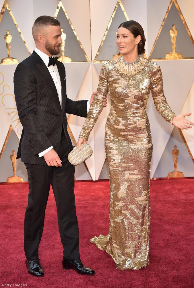 Timberlake egyébként a a E! riporterének azt mondta, a felesége egyszerűen maga a tökéletesség.
