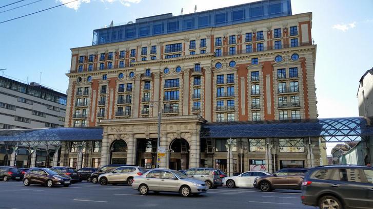 A Ritz-Carlton hotel Moszkvában
