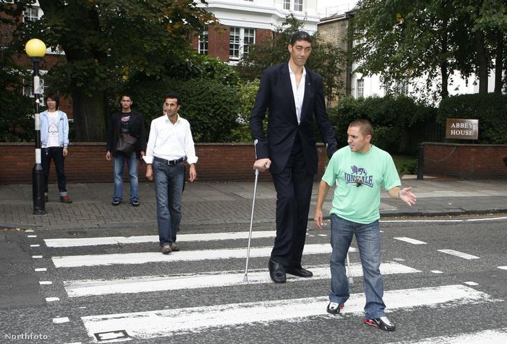2009-ben Sultan Kosen volt a világ legmagasabb embere