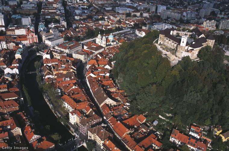 Ljubljana madártávlatból.