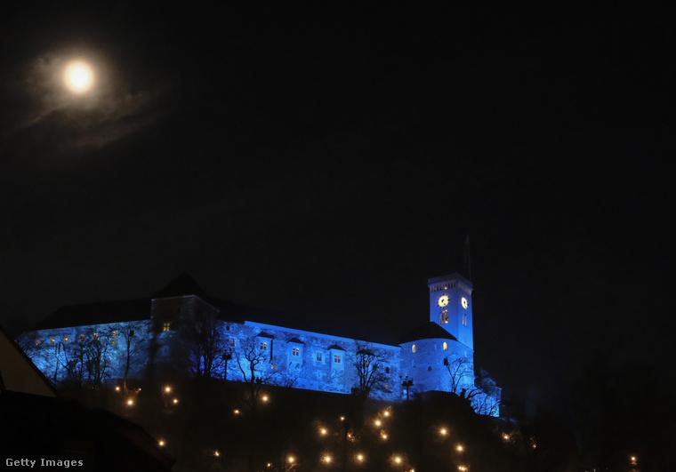 Ljubljana várát eredetileg a rómaiak építették.