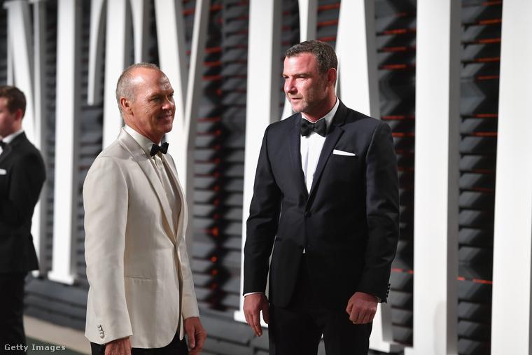 Michael Keaton és Liev Schreiber is bábuként várták, hogy valaki odébbtegye őket.