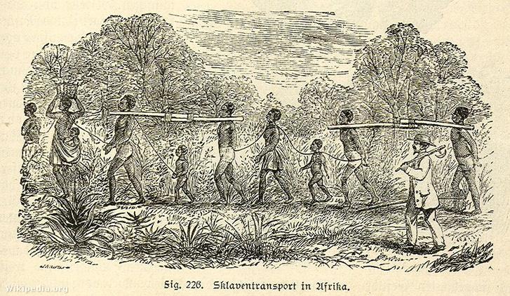 Afrikai rabszolgák szállítása