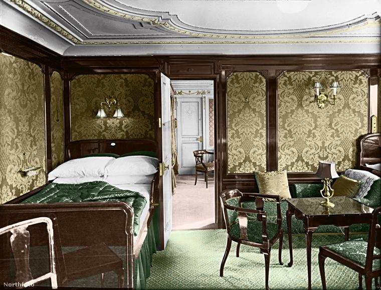 Ez is egy kabin volt az első osztályon: a B38-as szoba