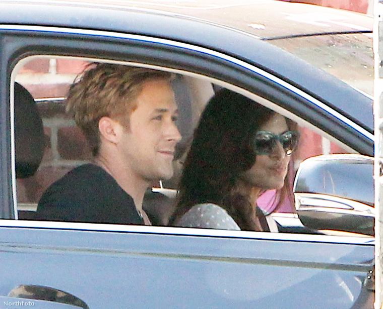 Eva Mendes még Budapestre is eljött, mivel Gosling itt forgatott.(Ez nem itthon készült, és nem is most, hanem még valamikor 2011-ben Amerikában.)