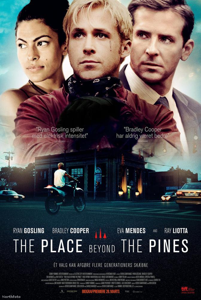 A Túl a fenyvesen (The Place Beyonf the Pines) című filmet promózták.