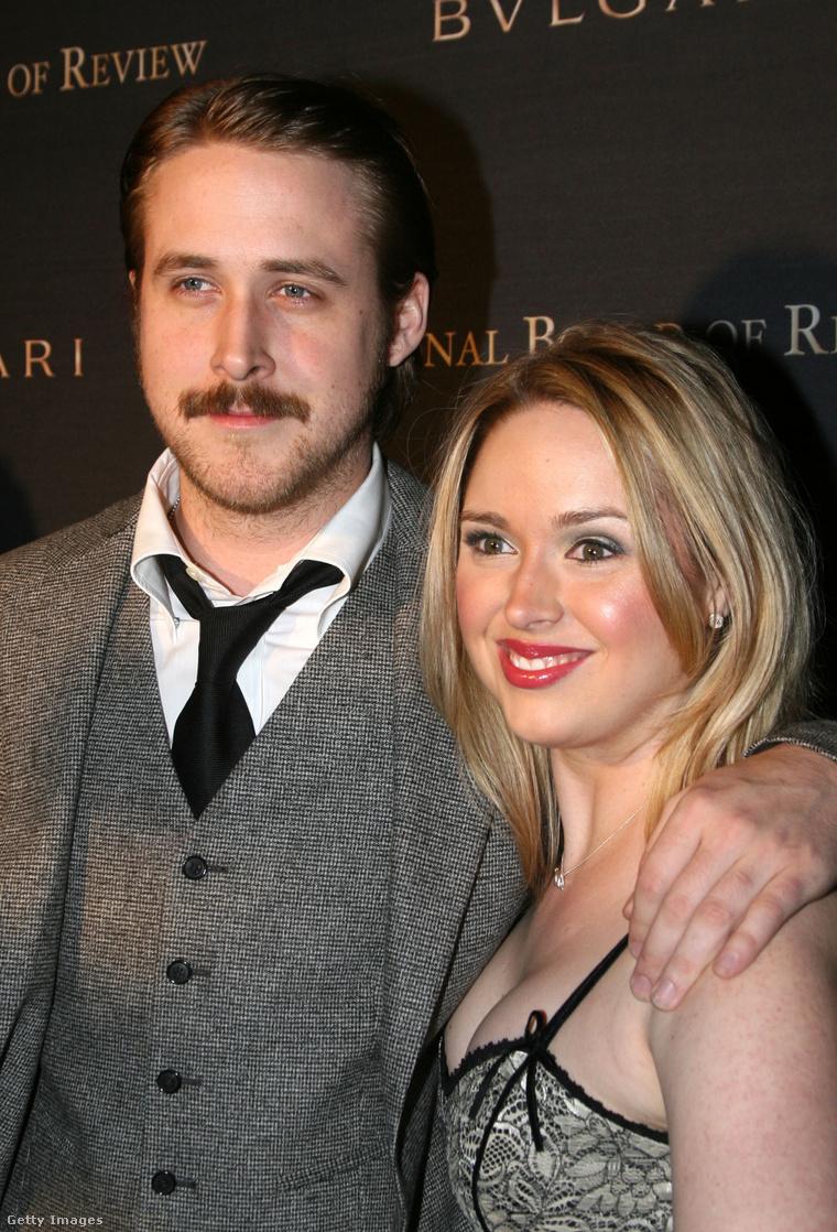 Ryan Gosling nővérével a 2005-ös New York-i filmkritikusok gáláján.