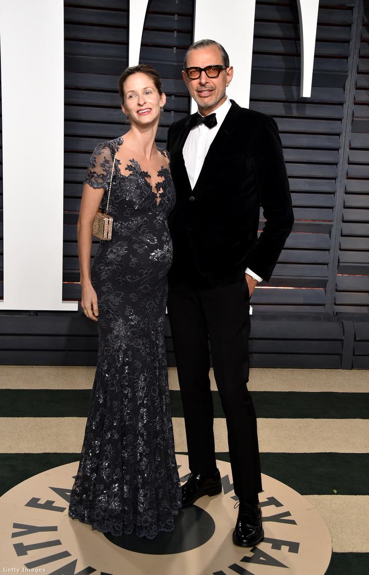 Jeff Goldblum és Emilie Livingston