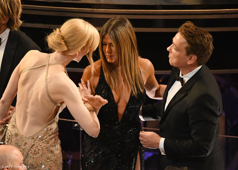 """""""Jennifer, azt tudtad, hogy Jenniferen volt már ilyen ruha?"""""""