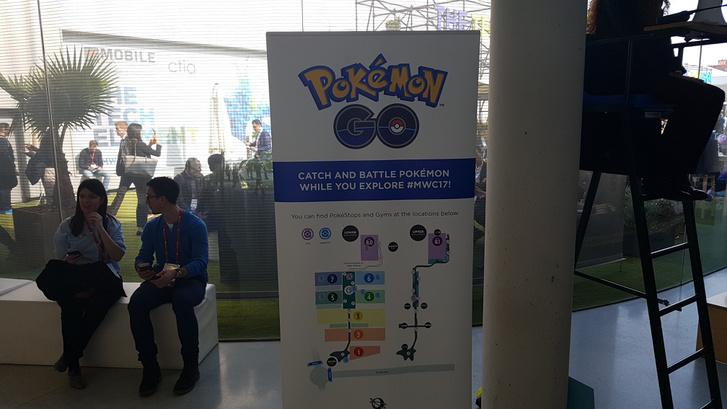 Pokemonokat is lehetett (volna) gyűjteni a kiállítás területén. Volt jobb dolgunk is.