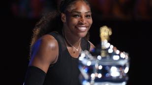 Két fiatal leugrott teniszezni, egyszer csak beállt hozzájuk Serena Williams