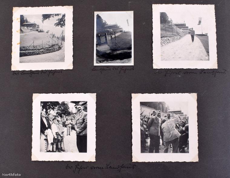 70 évvel ezelőtt Hitler bunkerében találták meg az albumot, egy brit katona vitte magával emlékbe