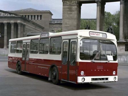 Az Ikarus 190-es VÖV szabványbusza