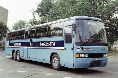 14,5 méter hosszú, Volvo alvázas Ikarus 396-os a nyolcvanas évek második feléből