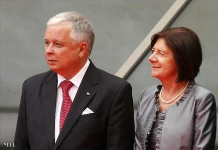 Kaczynski és felesége