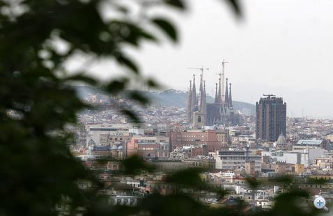 A Sagrada Familia még mindig épül