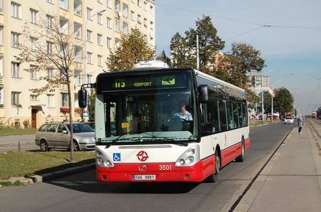 Az Irisbus Citelis Prágában