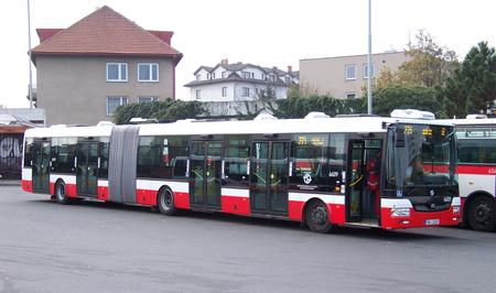 A cseh SOR buszai is egyre nagyobb számban tűnnek fel Prágában