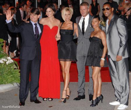 A Cruise-, a Smith- és a Beckham-házaspár