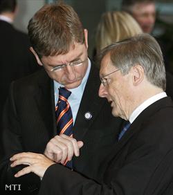 Gyurcsány Ferenc és Wolfgang Schüssel