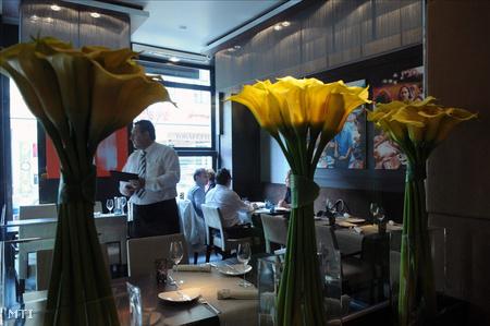 A Ráday utcai Costes étterem, amely először érdemelte ki hazánkban a Michelin-csillagot