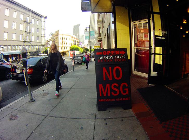 Glutamátmentes menüt ígérő étterem San Franciscóban