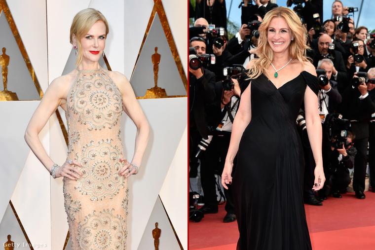 Julia Robert őfelségének hívja Nicole Kidmant, amióta együtt játszottak a Szemekbe zárt titkok című 2015-ös filmben