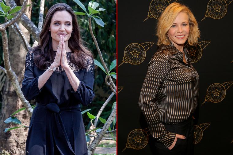 Chelsea Handler (Jennifer Aniston országos barátnője) sosem titkolja el, ha valakit a pokolba kíván, nagy kedvence többek között Angelina Jolie, akit szívesen és bármikor lekurváz, ha adódik rá egy kellemes pillanat