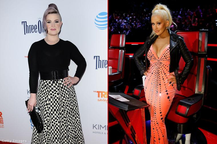 Chritina Aguilera és Kelly Osbourne drámája akkor kezdődött, amikor Osbourne kigúnyolta Aguilera karácsonyi CD-jét az Osbournes című műsorban