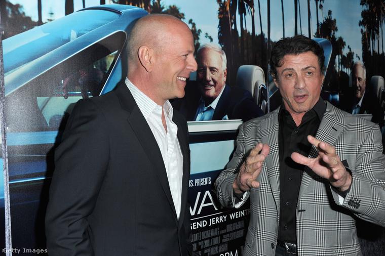 Sylvester Stallone és Bruce Willis erőltetett mosolya üdvözli önt összeállításunkban, amely bizonyos hírességek között feszülő, komoly és komolytalan ellentétekről szól mindjárt