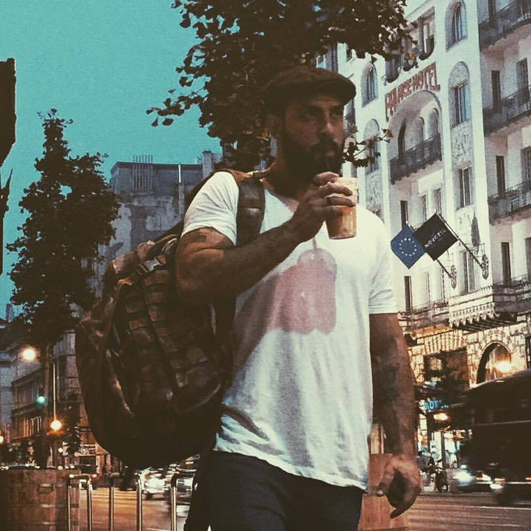 Aytunc Öztürk először a Sziget miatt utazott Budapestre.